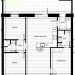 4-værelses på 95 m2